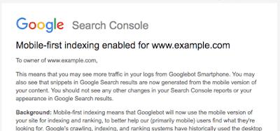 Google正式宣布推出移动优先索引