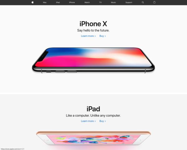 Apple官网