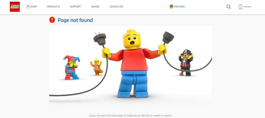 乐高-404页面