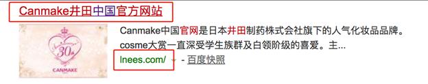 问题15(示例):非官方网站但使用官方网站标题